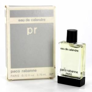 Mini Perfumes Hombre - Eau de Calandre by Paco Rabanne 3.75ml. (Últimas Unidades)
