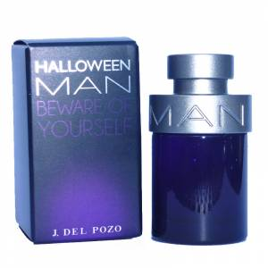 Mini Perfumes Hombre - Halloween Man Eau de Toilette - Beware Of Yourself de Jes�s del Pozo 4,5ml.