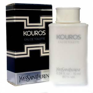 Mini Perfumes Hombre - Kouros 1ª versión (Caja lisa) Eau de Toilette by Yves Saint Laurent 10ml. (Últimas Unidades)