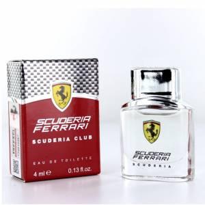 Mini Perfumes Hombre - Scuderia Ferrari - Scuderia CLUB Eau de Toilette by Ferrari 4ml. (Últimas Unidades)