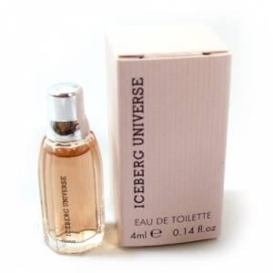 Mini Perfumes Mujer - Iceberg Universe Eau de Toilette for Woman 4ml. (Solo coleccionistas) (Ideal Coleccionistas) (Últimas Unidades)