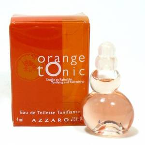 Mini Perfumes Mujer - Orange Tonic Eau de Toilette by Azzaro 4ml. (Especial para boda)
