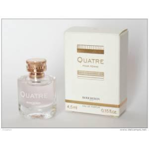 Mini Perfumes Mujer - Quatre EDP by Boucheron 4,5 ml. (IDEAL COLECCIONISTAS) (Últimas Unidades)
