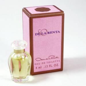 Mini Perfumes Mujer - SO de la Renta Eau de Toilette by Óscar de la Renta 5ml. (Ideal Coleccionistas) (Últimas Unidades)