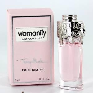 Mini Perfumes Mujer - Womanity Eau pour Elles de Thierry Mugler (IDEAL COLECCIONISTAS) (Últimas Unidades)