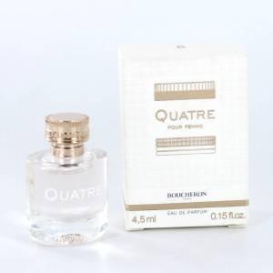 -Mini Perfumes Mujer - Quatre EDP by Boucheron 4,5 ml. (IDEAL COLECCIONISTAS) (Últimas Unidades)
