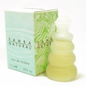 -Mini Perfumes Mujer - Samba Natural Eau de Toilette by Perfumers Workshop 7.5ml. (Solo coleccionistas) (Ideal Coleccionistas) (Últimas Unidades)