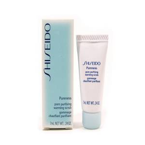 -Mini Perfumes Mujer - Shiseido Pureness Pore Purifying Warming Scrub Exfoliante Gel 7 ml (Últimas Unidades)