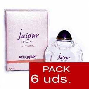 .PACKS PARA BODAS - Jaipur Bracelet Eau de Parfum by Boucheron Paris 4,5ml.PACK 6 UNIDADES